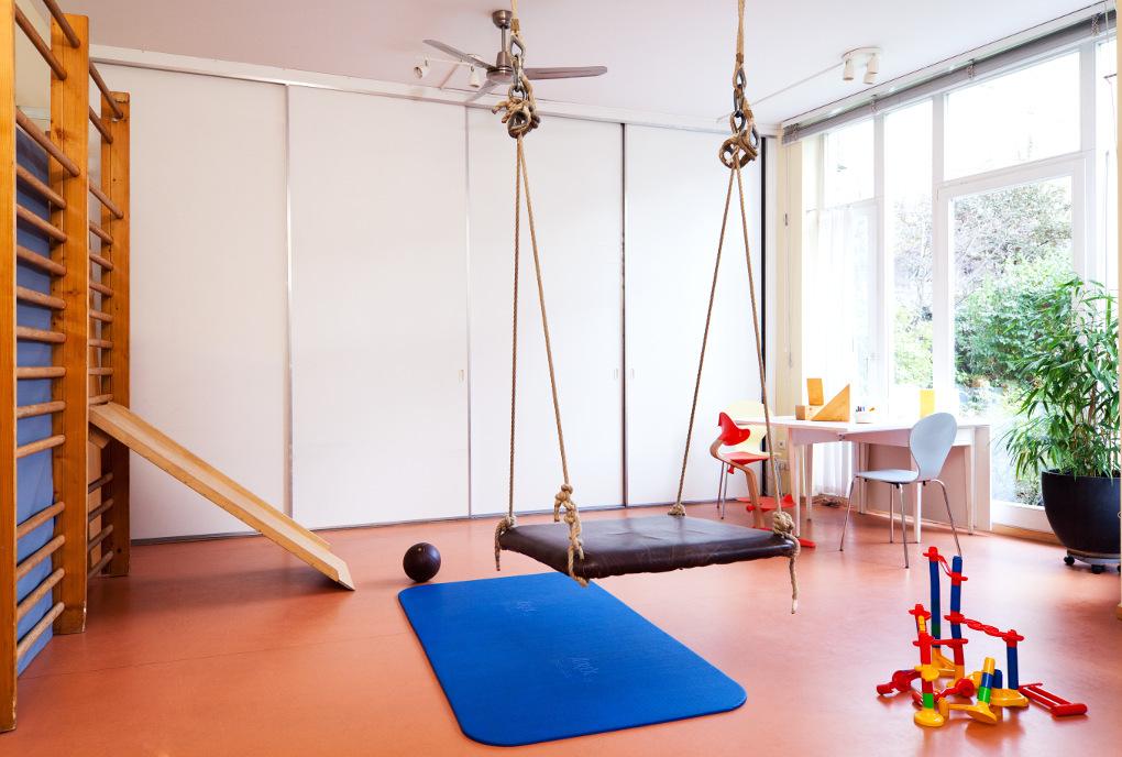 Großer Raum, Therapieraum, Kindertherapie,